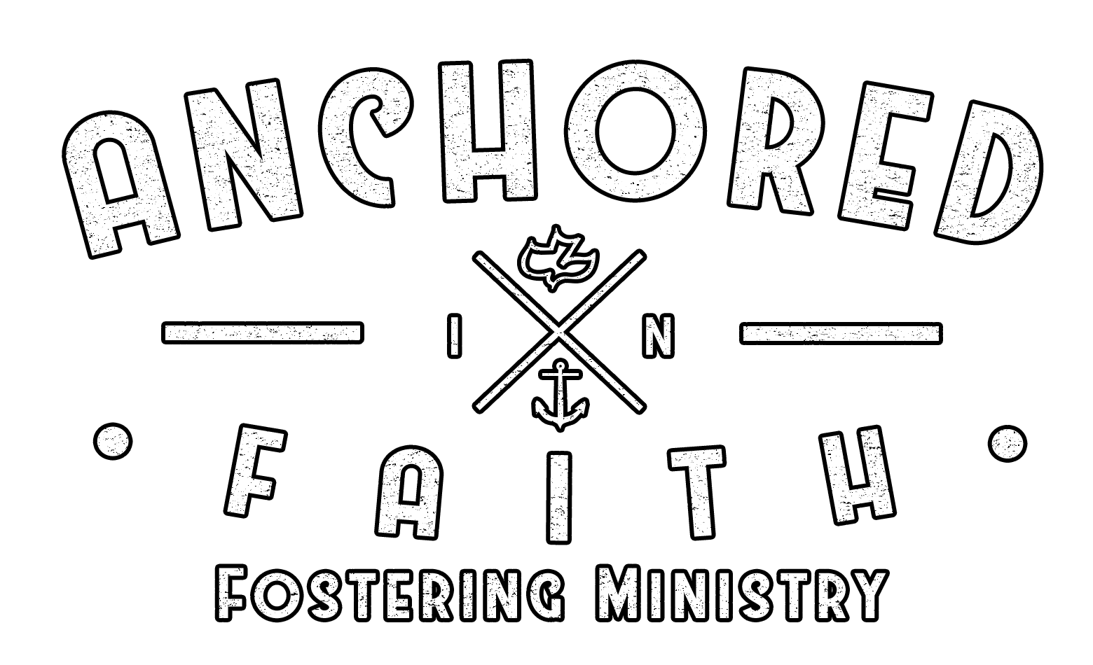 Anchored in Faith LOGO white outline