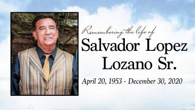 Sal Lozano Memorial SCREEN